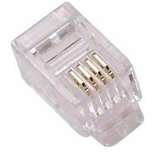 Conector para telefonia Headset RJ-09 de Climp 4 x 4 com 4 vias